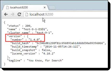 Upgrading Elasticsearch