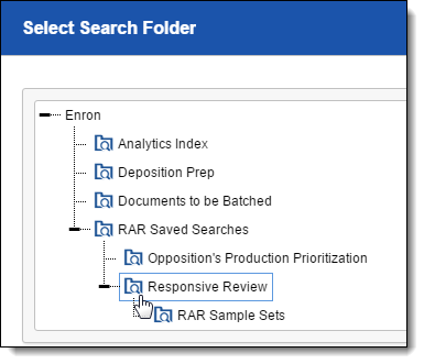 Using Cluster Visualization to jump start your RAR project