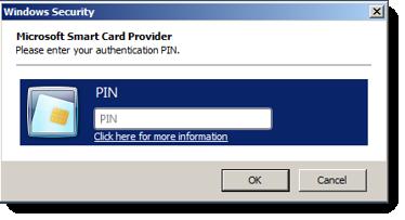 Smart card authentication