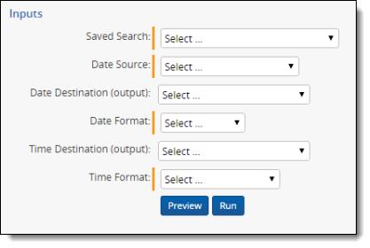 Date field parsing